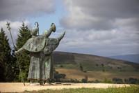 El Monte de O Gozo albergará nuevos servicios postales para peregrinos.