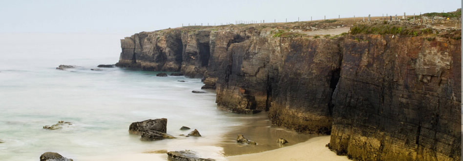Praia das Catedrais