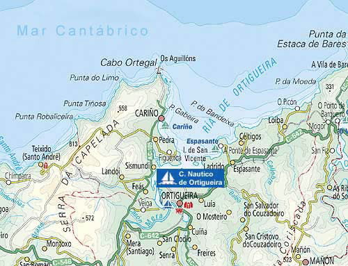 Nautical Sporting Facilities Sea Club Nautico De Ortigueira In