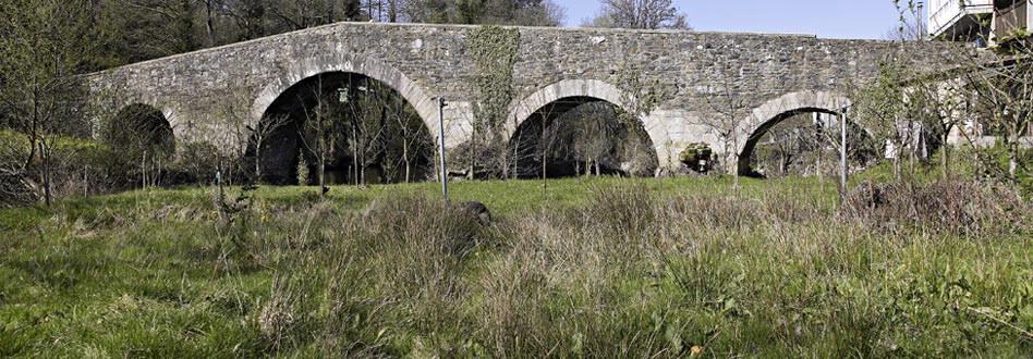 Furelos Bridge in Melide