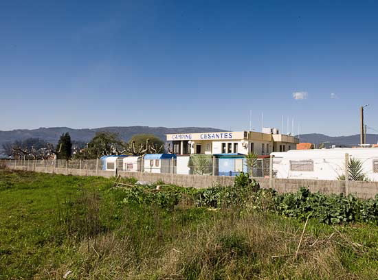 Camping Cesantes En Redondela Pontevedra Galicia