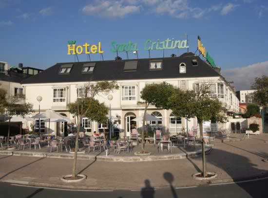 hoteles santa cristina coruna: