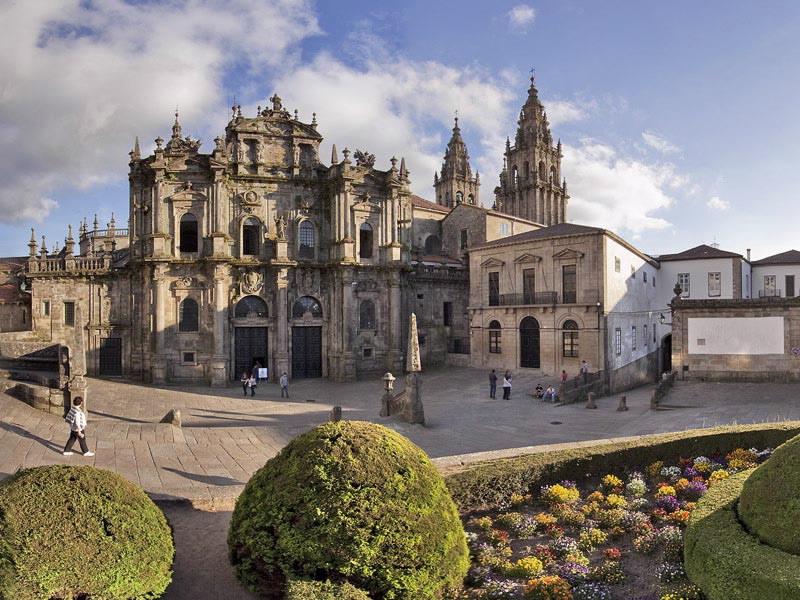 Catedral catedral de santiago de compostela en santiago de for Oficina correos santiago de compostela