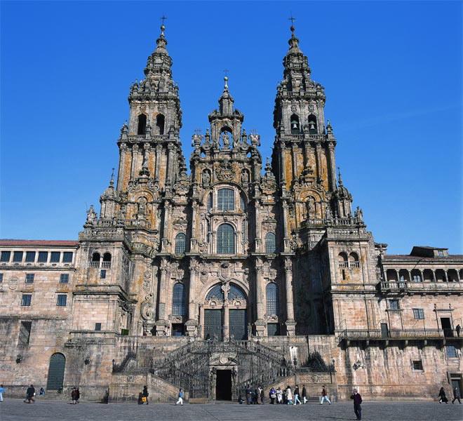 Catedral catedral de santiago de compostela en santiago de for Oficinas de correos en santiago de compostela