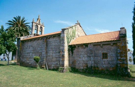 Iglesia igrexa de san pedro de oza en oza cesuras a coru a - Tiempo en oza cesuras ...