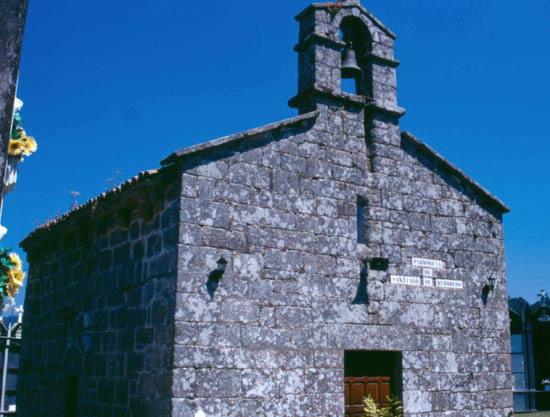 Iglesia igrexa de santiago de reboredo en oza cesuras a - Tiempo en oza cesuras ...