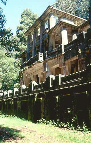 Edificio singular edificio do sanatorio tuberculoso en oza - Tiempo en oza cesuras ...
