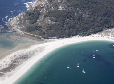Praia de Rodas - Illas Cies