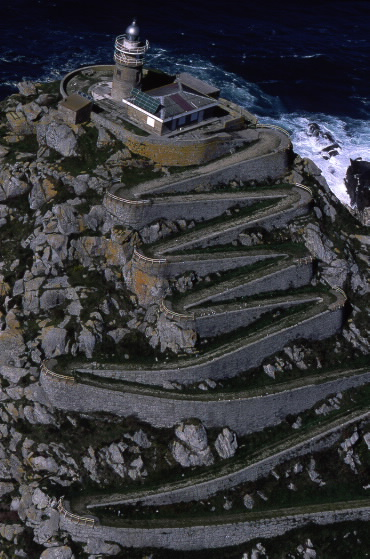 Subida ao monte Faro - Illas Cíes