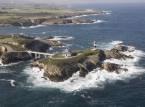 Lighthouse of Pancha Island - Ribadeo