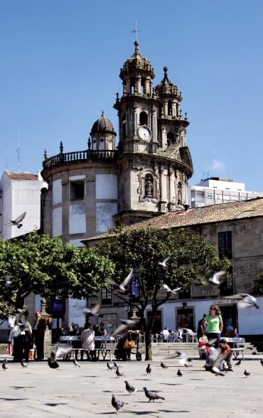 Santuario da Peregrina - Pontevedra
