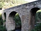 Roman Bridge over the River Bibei