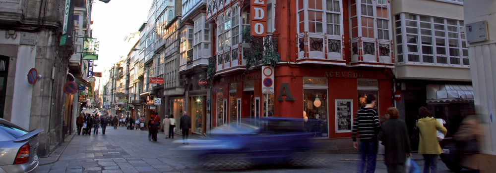 Rúa Real - Ferrol