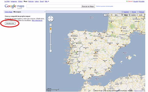Downloading Turgalicia points of interest in KML format