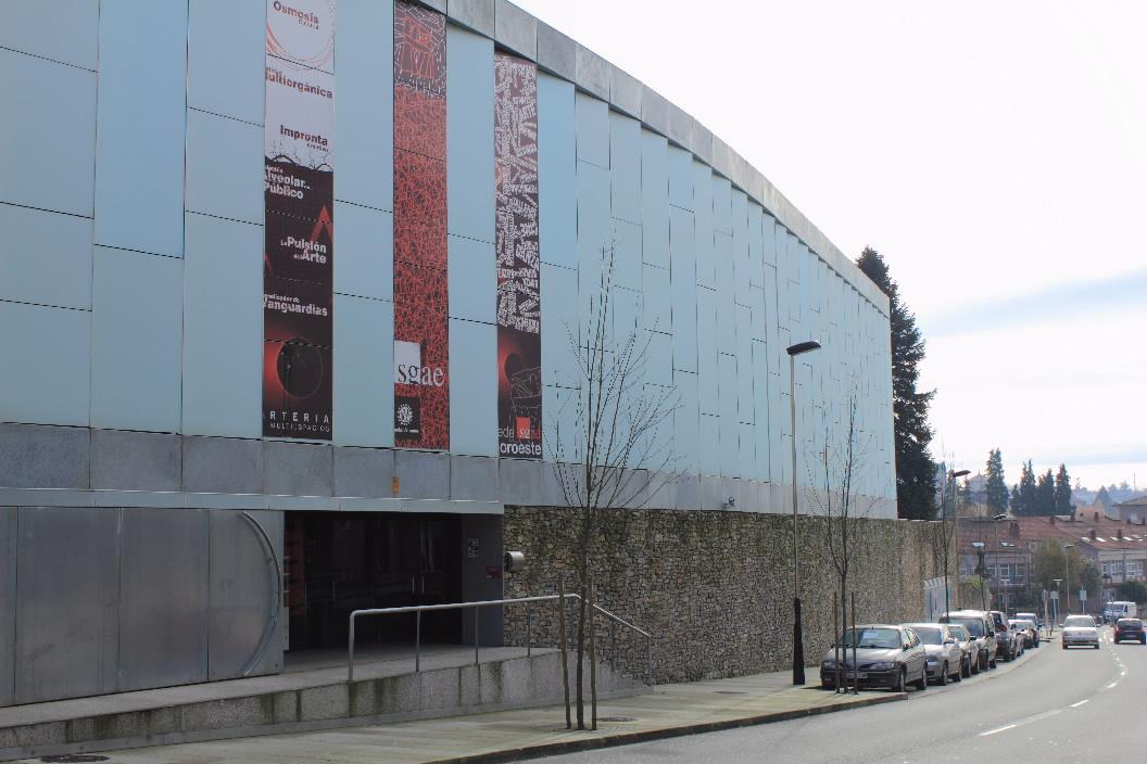 Arquitectura de vanguardia nova sede da sgae en santiago - Arquitectura de interiores coruna ...