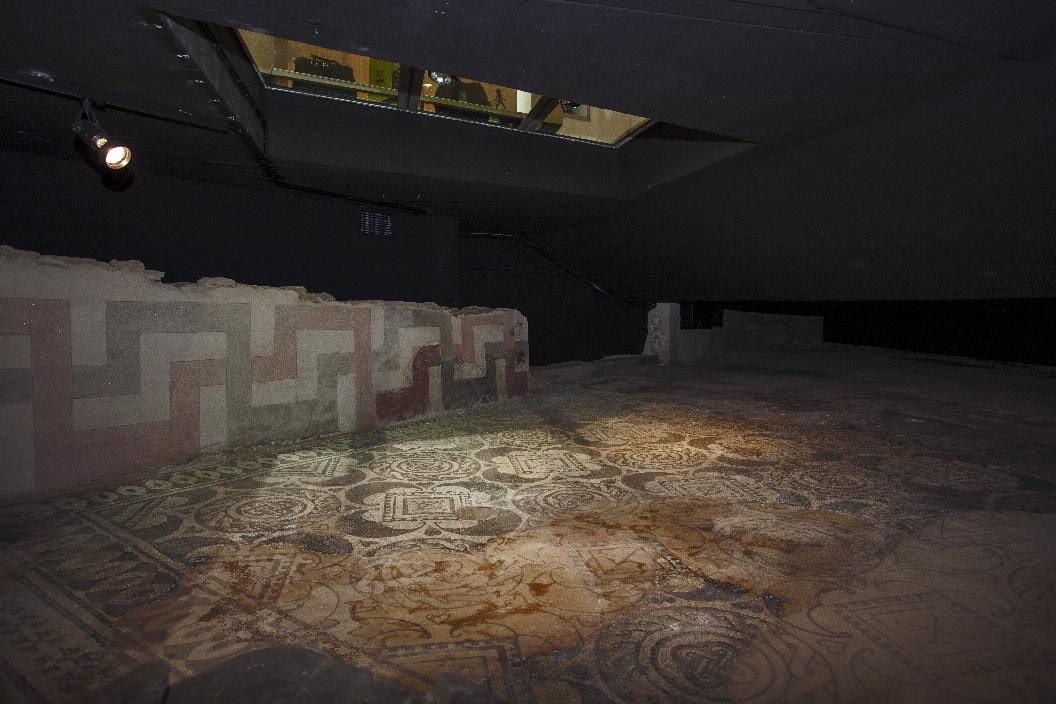 MUSEOS Y COLECCIONES VISITABLES CASA DOS MOSAICOS EN LUGO LUGO - GALICIA