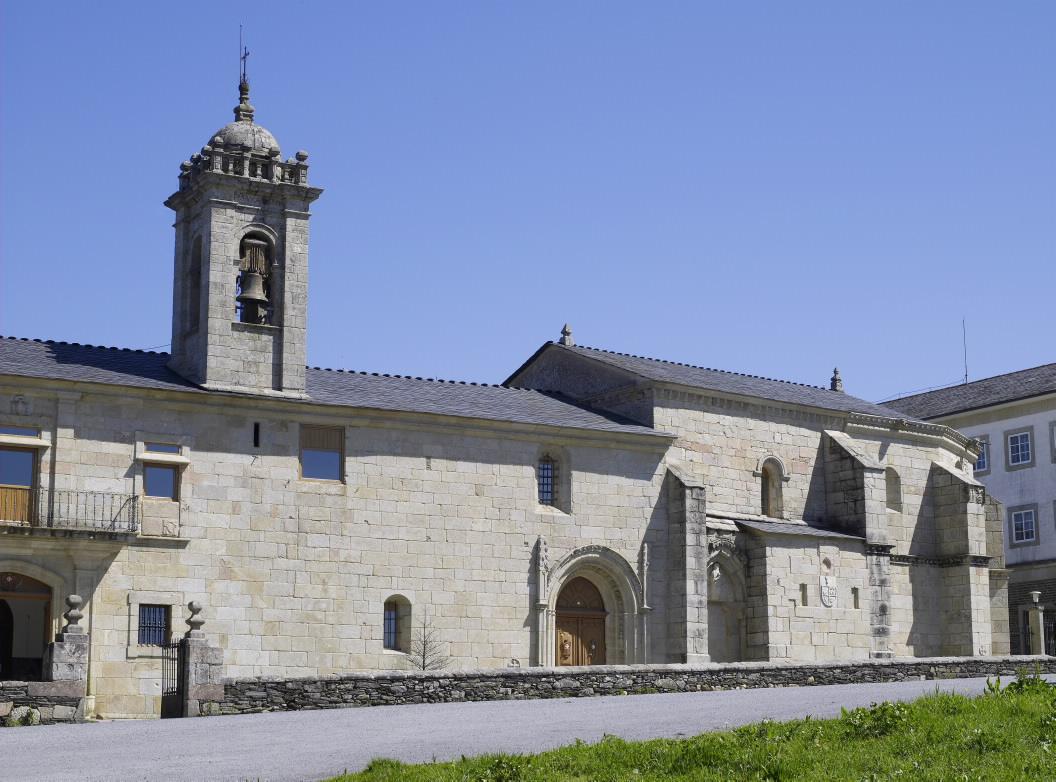 MONASTERY SANTA MARÍA MAGDALENA IN SARRIA LUGO - GALICIA