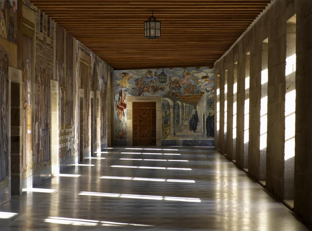 Monastery San Xulian De Samos In Samos Lugo Galicia