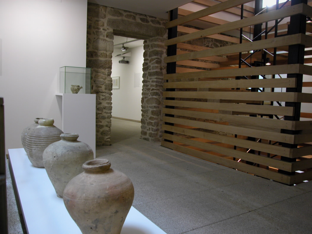 Arquitectura de vanguardia casa museo mar a pita en a - Arquitectura de interiores coruna ...