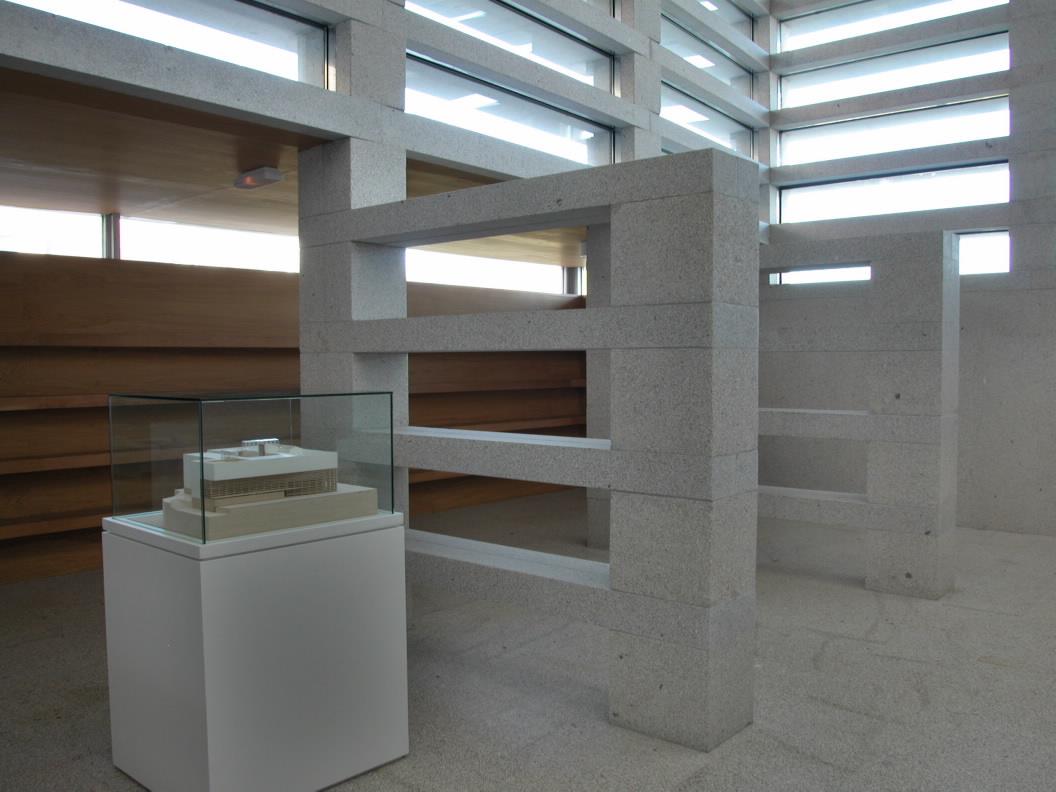 Arquitectura de vanguardia fundaci n luis seoane de a - Arquitectura de interiores coruna ...