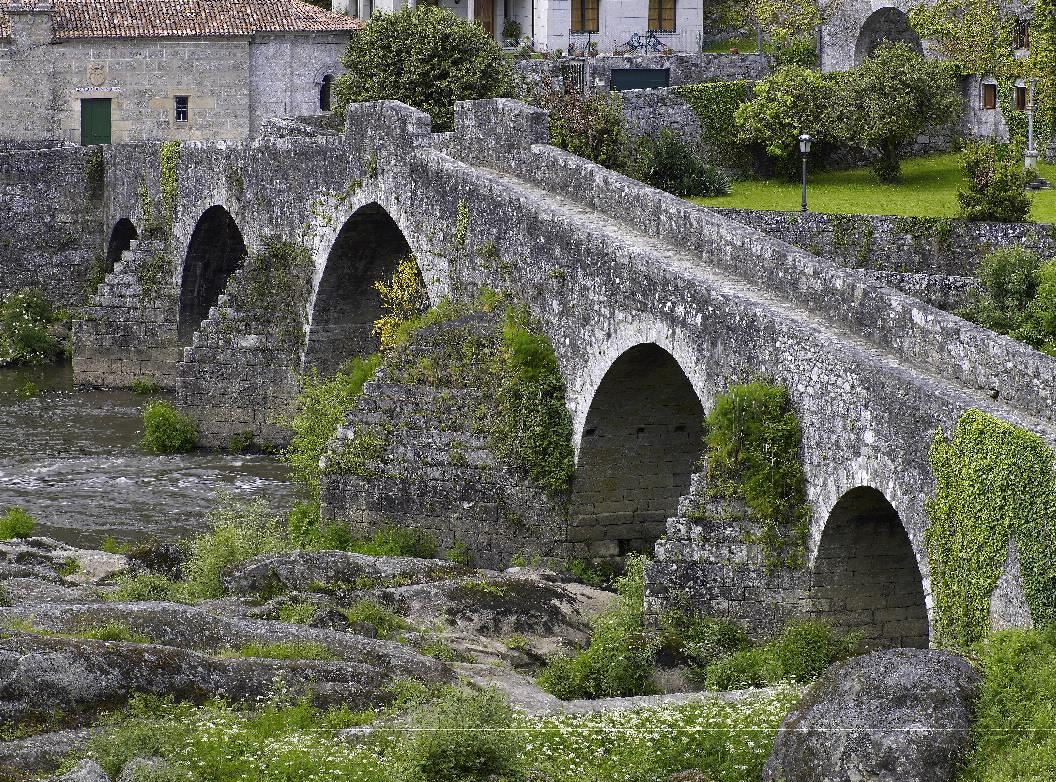 Puente ponte maceira en ames a coru a galicia for Camino sul ponte rialzato