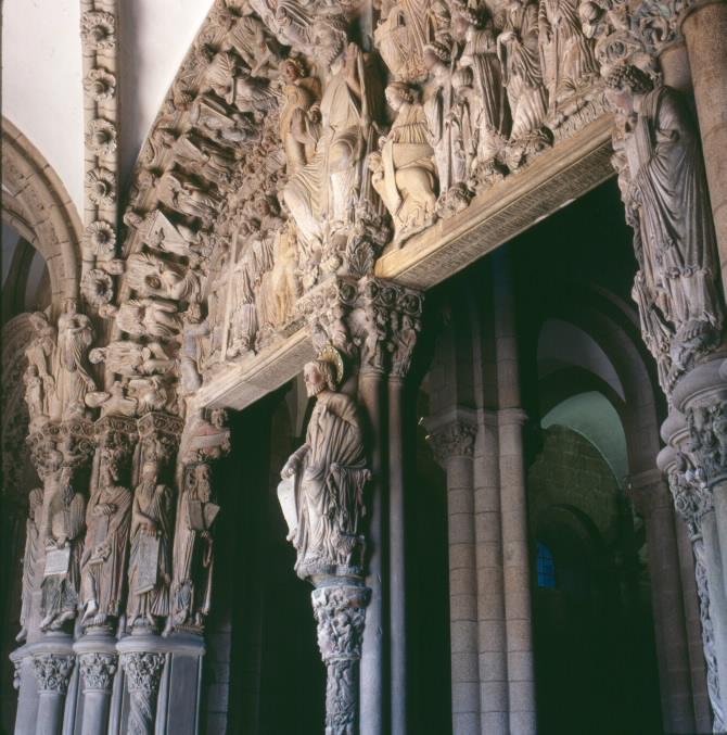 Pórtico da Gloria. Catedral de Santiago