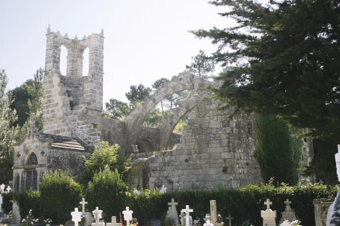 Ruins of Santa Mariña Dozo