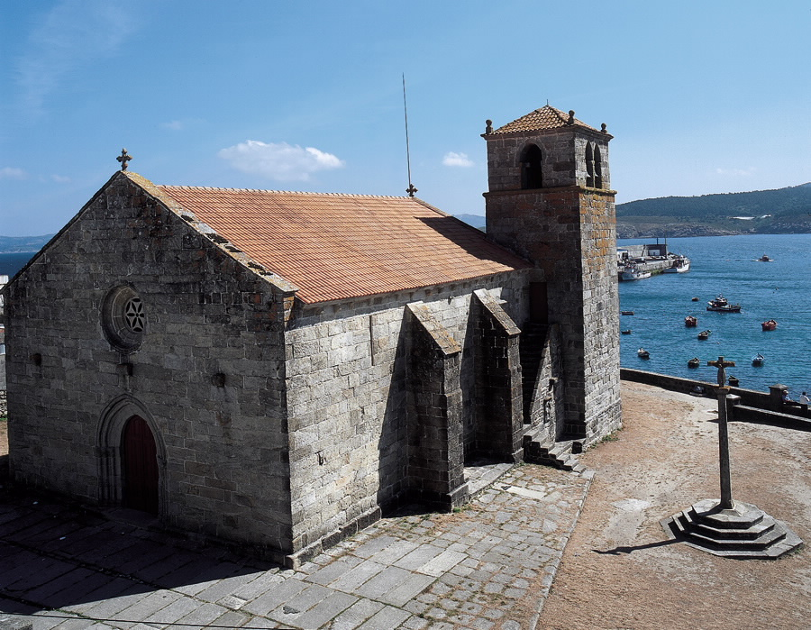 Resultado de imagen de iglesia de laxe